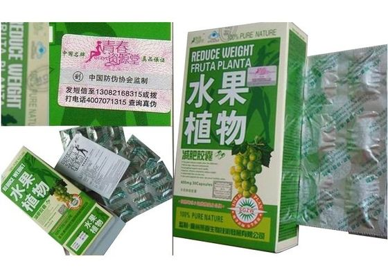 Cina Fruit Plant Herbal Weight Loss Pills With Lemon / Bitter Gourd / Spiral Ingredients pabrik