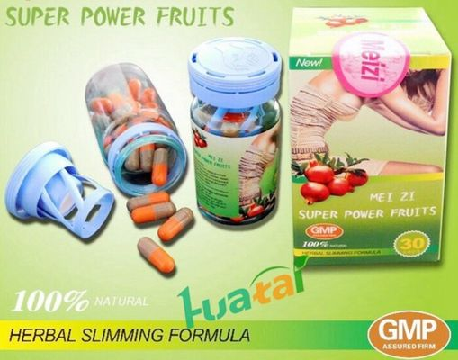 Cina Authentic Meizi Evolution Herbal Weigh Loss Pills Meizi Super Power Fruits Diet Pills Untuk Wanita pabrik